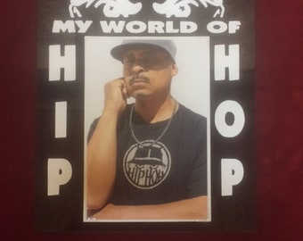 "My World Of ""Hip Hop"" Plaque"