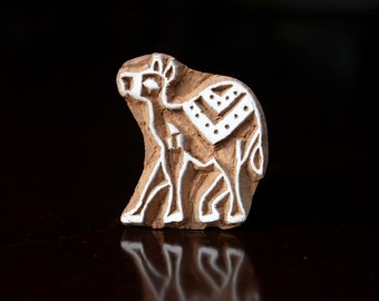 Soap Stamp, Pottery Stamps, Indian Wood Stamp, Textile Stamp, Wood Blocks, Tjaps, Printing Stamp- Small Camel