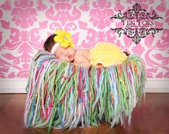 Yellow Ruffle Baby Bloomers, Ruffle Diaper Cover, Ruffle Bloomers, Diaper Cover, Baby Ruffle Bloomers