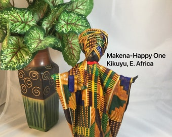 Makena, Sherika Queen Statue, Welcome to Wakanda Collection, size 2, 9 inches