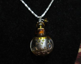 Pick Your Poison Perfume Bottlte Necklace
