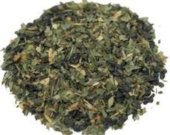 1 oz Organic Mint Green tea
