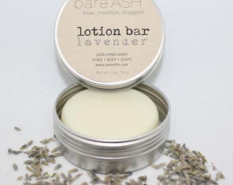 bareASH Lotion Bar (Lavender)
