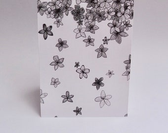 "Pen ""Falling Blossoms"" Card Sets 4x6inch"