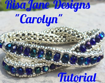 """RisaJane Designs Tutorial """"Carolyn"""""""