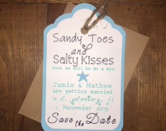 Save The Date's with envelope