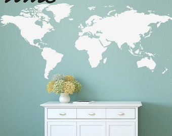World map decal map decal world map children wall decal world map wall decal map decal geography wall large a0037 gumiabroncs Image collections
