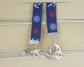 Bookmark • maritime •  boat / sea / sailing / gift for him / gift for her / gift under 20