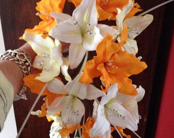 Lily bouquet.