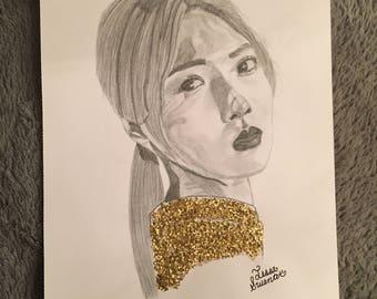 KARD Somin drawing
