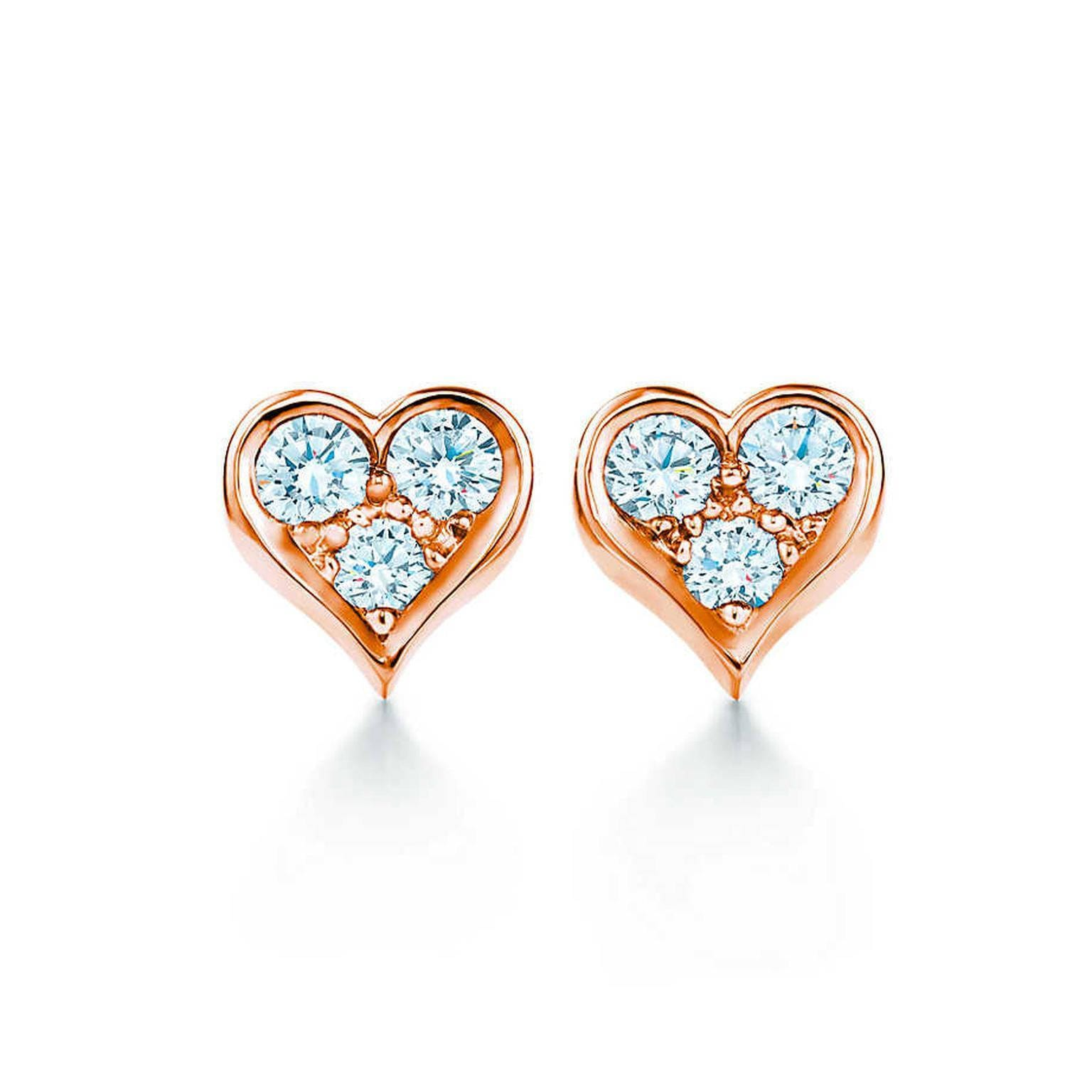 studs shaped ayesha heart earrings gold metallic shop accessories combo