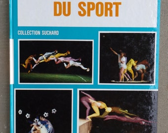 """Sports advertising 1968 book / """"The discovery of the sport A"""" SUCHARD collection / """"Champions, Techniques and workout"""" 1968"""