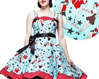 Hell bunny Atomic cherry Dress