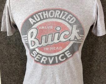 Vintage Authorized Buick Service Shirt M
