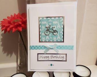 Birthday 'bicycle' card
