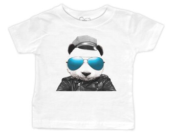 Wild Panda T-Shirt (Infant, Toddler, Youth or Adult Sizes)