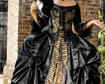 Steampunk Marie Antoinette