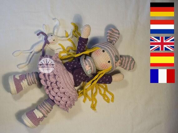 PDF/ Häkelanleitung Puppe ALINA