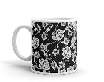 Floral Tapestry Mug