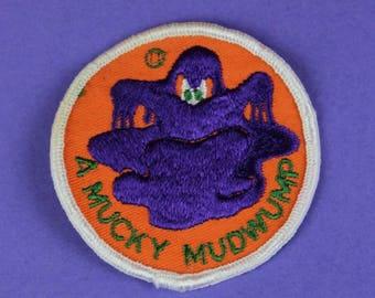 A Mucky Mudwump Vintage 1970s NOS Patch