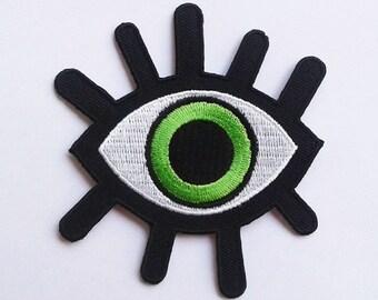Demon green eye patch.