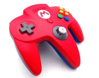 Nintendo 64 Custom Mario Controller