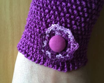 Knitted Cuff Bracelet