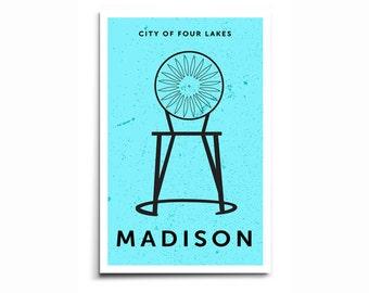 Madison Wisconsin Memorial Union - Single Chair