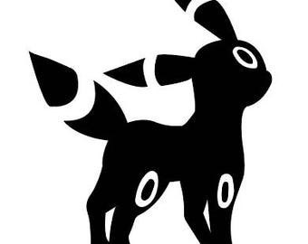 Umbreon Vinyl Sticker