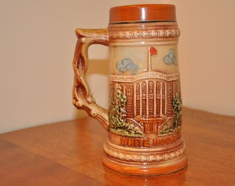 Vintage Ceramic Washington DC Souveir Stein