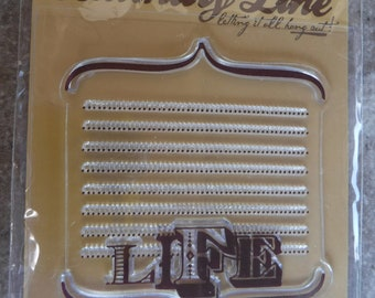 Laundry Line by Jen Wilson Acrylic Stamps Life