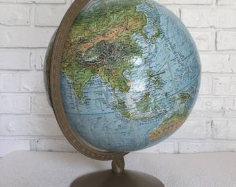 "Vintage Replogle 12"" Globe"
