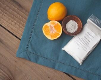 3.5oz  Kids Orange Organic Vegan Fluoride Free Remineralizing Tooth Powder