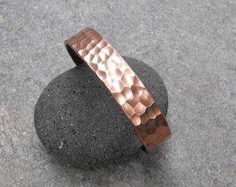 Hammered Copper Cuff, Copper Cuff Bracelets, Copper Jewelry