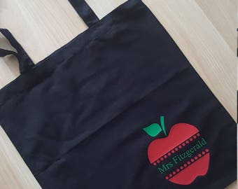 Teacher Gift, Teacher Christmas Gift, shopping bag, bag for life, personalised bag, personalised Teacher gift, teaching assistant, Tote Bag