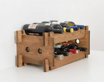 small emsworth lifestyle wine furniture uk racks oak rack petite