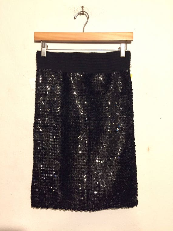 Sequins Pencil Skirt