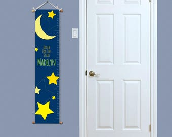 Personalized Growth Chart - Custom Growth Chart - Growth Chart Ruler - Personalized Nursery Decor - Vinyl Growth Chart - Custom Height Chart