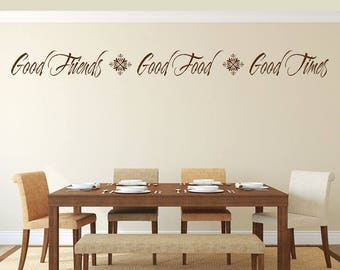 Dining Room Decor Sign Wall Art Decal