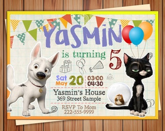 Bolt Invitation, Bolt Birthday Invitation, Bolt Party Invitation, Bolt Birthday, Bolt Party, Bolt Birthday Party