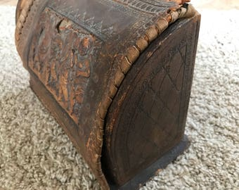 Gorgeous antique letter holder
