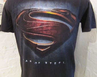 Size L (44) ** Superman Shirt (Single Sided)