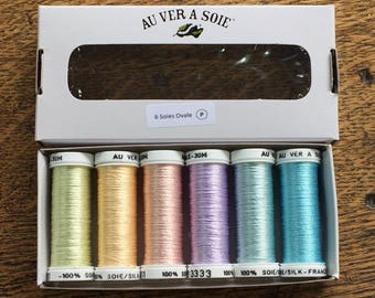 Pack of discovery oval pastel silk
