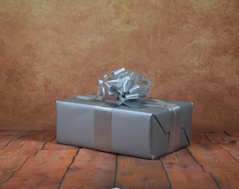 Classic Collection Gift Wrap Kit - Silver