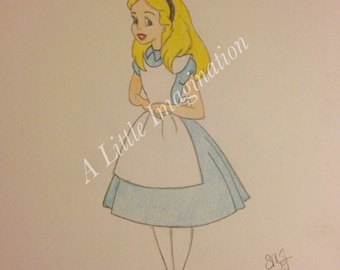 Walt Disney Alice in Wonderland
