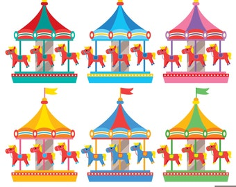 carousel clipart etsy rh etsy com carousel clipart png carousel clip art free downloads