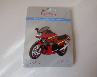 Pattern fusible motorcycle