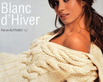Irish style sweater pattern