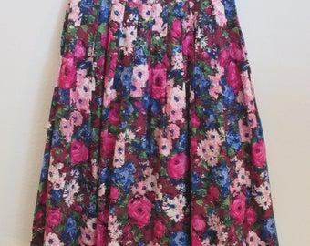 Monet's Garden Skirt