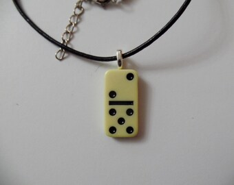Domino pendant etsy domino aloadofball Image collections